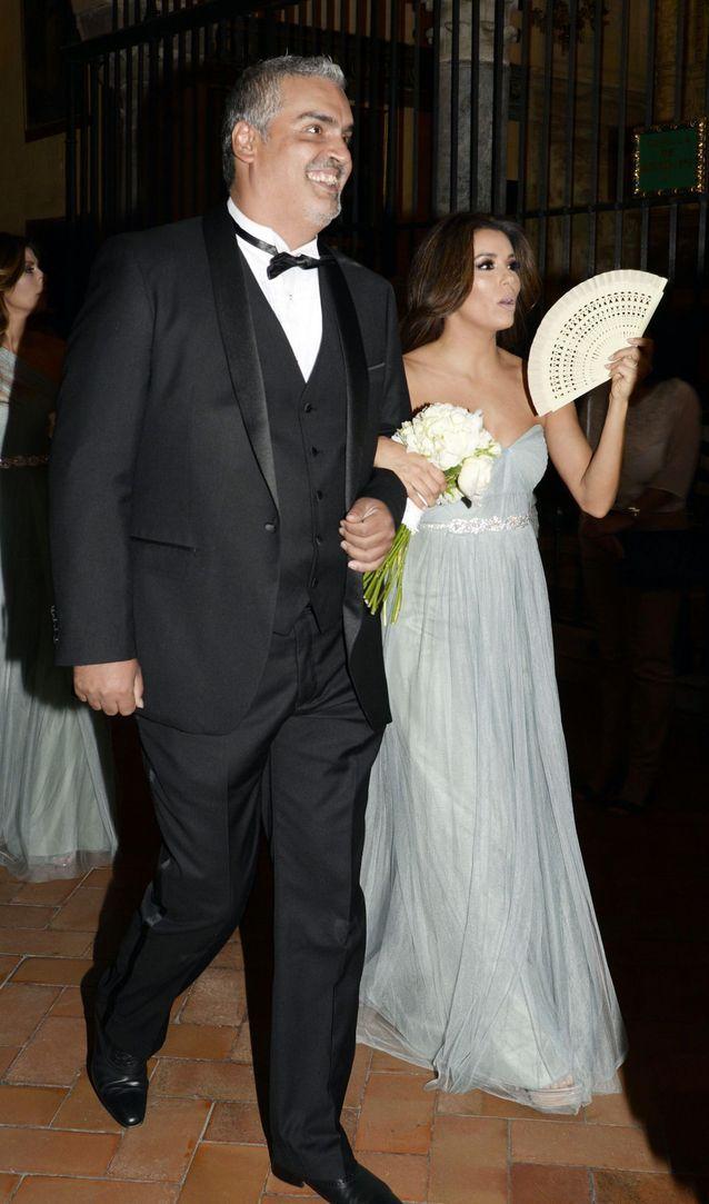 La robe de demoiselle d'honneur d'Eva Longoria
