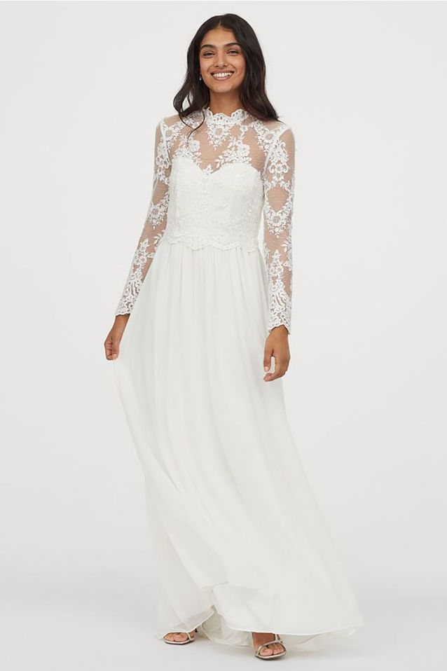 Robe de mariée en dentelle H&M