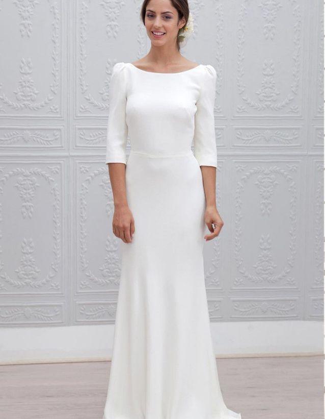 63b7371224880 Robe de mariée d'hiver classique - 22 robes de mariée d'hiver ...