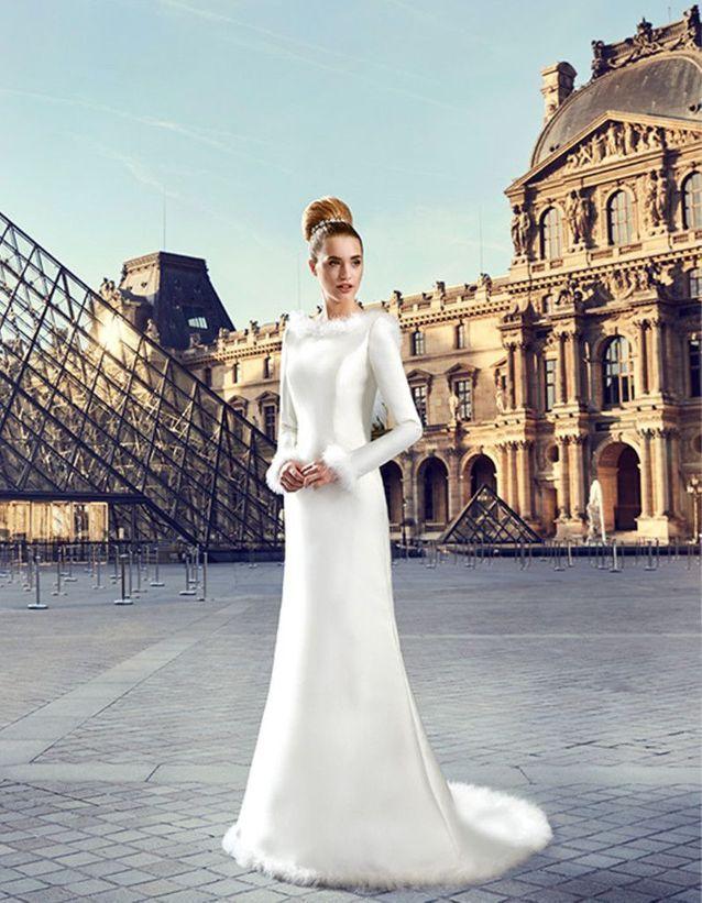Robe de mariée d'hiver Pronuptia