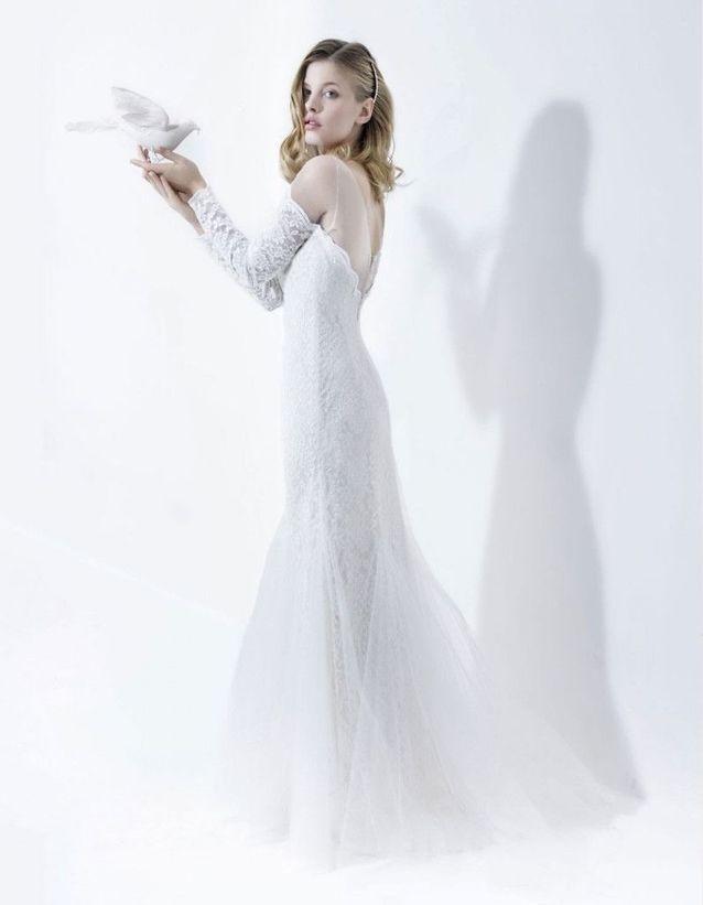 Robe de mariée hiver 2016