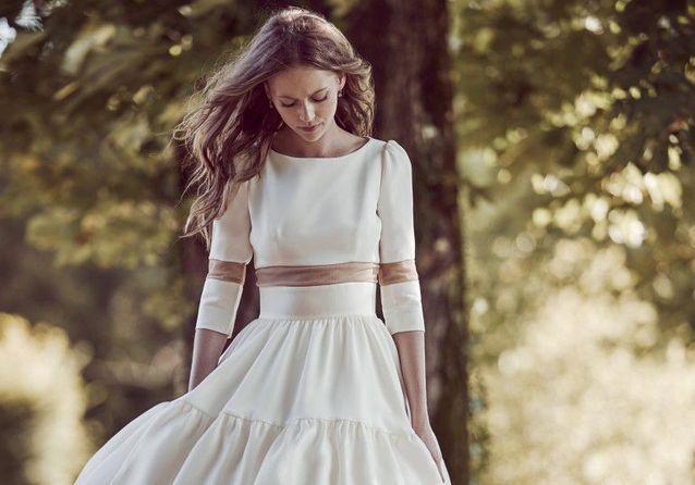 Les plus belles robes de mariée courtes