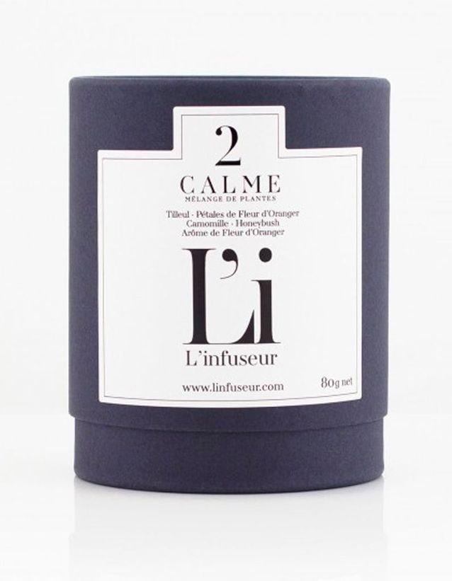 Calme, L'Infuseur, 15,90 €, 80 g