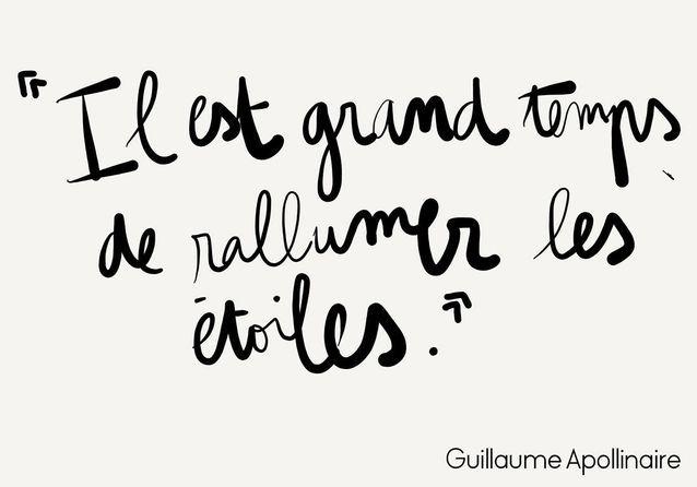 Guillaume Apollinaire Mantra 15 Pensées Positives Pour