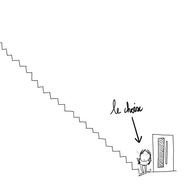 Leçon n°1 : je monte les escaliers (sur la pointe des pieds !)