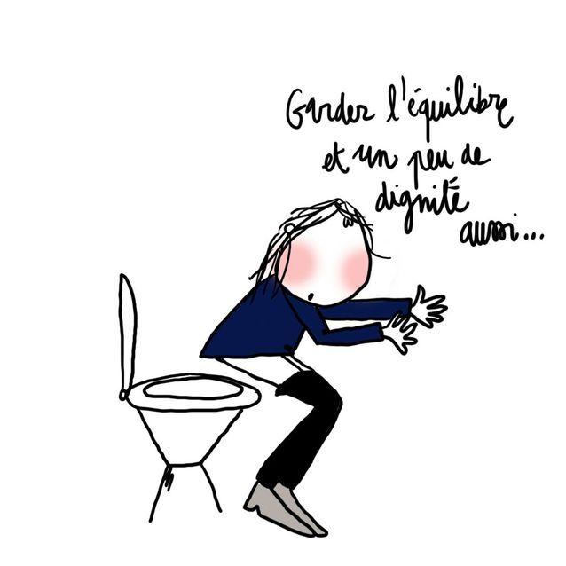 Leçon n°3 : je ne m'assois pas sur les toilettes