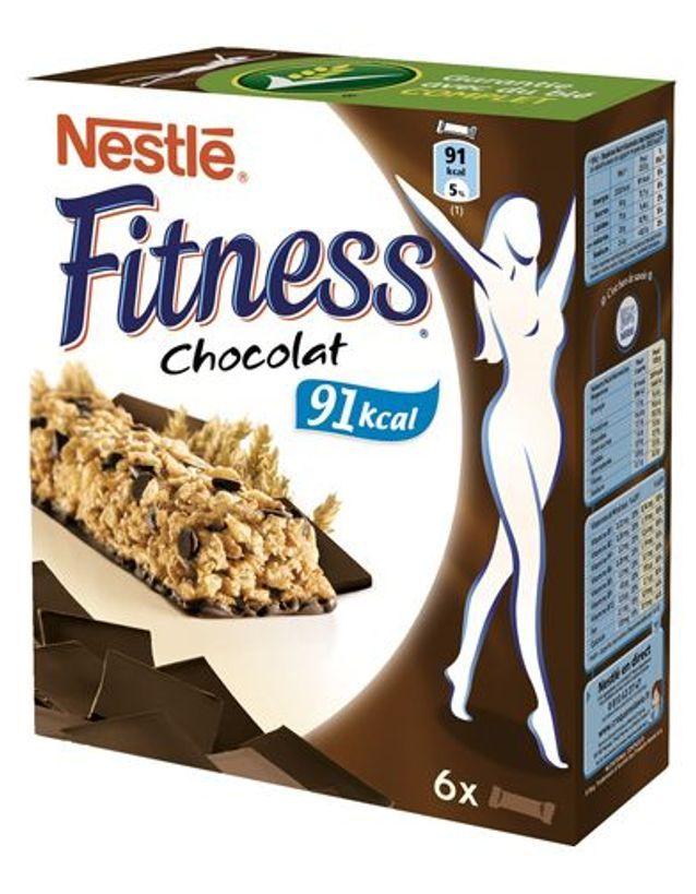 Barre De Céréales Chocolat FITNESS - 8 barres de céréales
