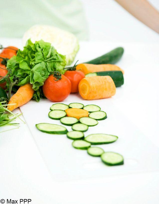 Concombre et carotte