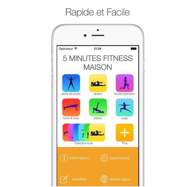 5 minutes fitness maison - #workout : les meilleures applis pour s