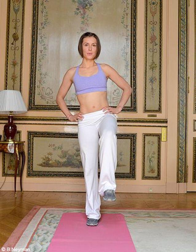 Minceur sport exercices coach julie ferrez affiner jambes exo 1 4