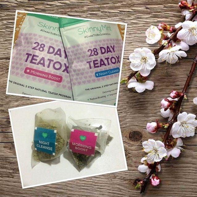 Teatox de Skinny Mint