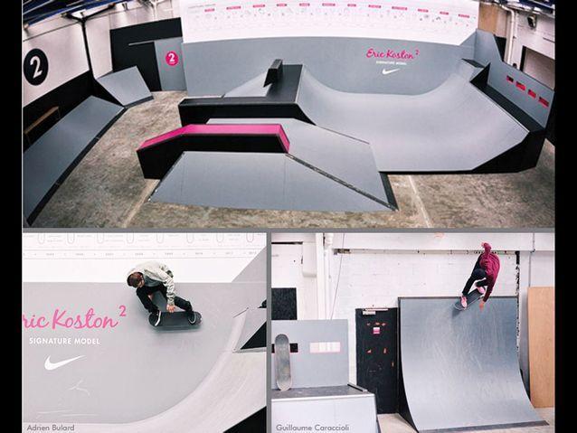Nike Skate Parc Montreuil