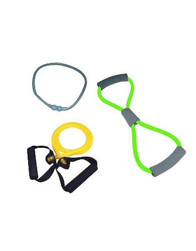 Minceur shopping sport accessoires exercices lot elastiques