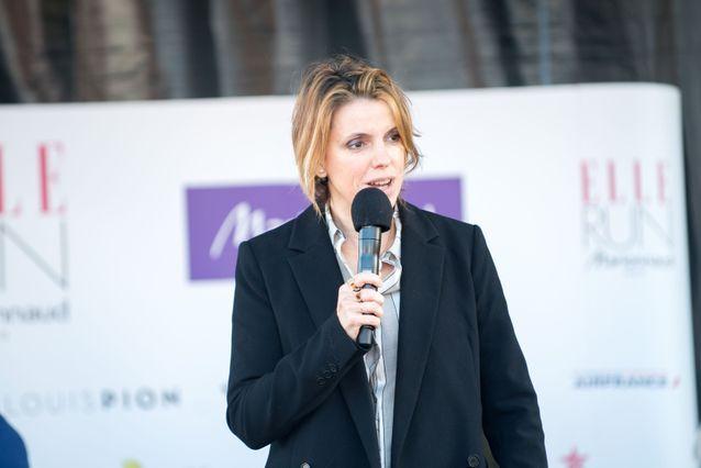 Françoise-Marie Santucci, directrice de la rédaction de ELLE