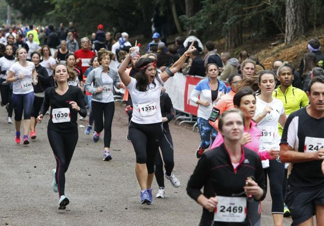 ELLE RUN MARIONNAUD : les photos les plus fun de la course
