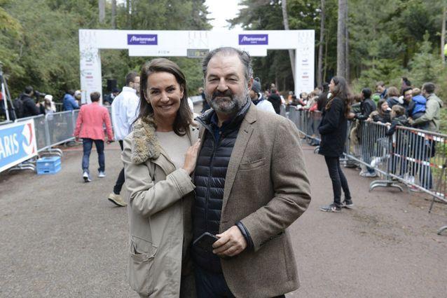 Constance Benqué, CEO ELLE France et International et Denis Olivennes, président de Lagardère Active