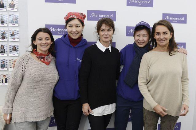 Elodie Bretaudeau, Fei Fei Wei, Caroline Pois, Eileen Yeo et Constance Benqué