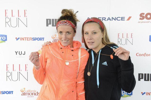 Le duo féminin gagnant de la ELLE Run Marionnaud