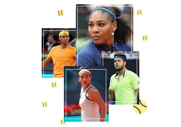 Qui sont les joueurs et joueuses de tennis à suivre pendant Roland-Garros ?