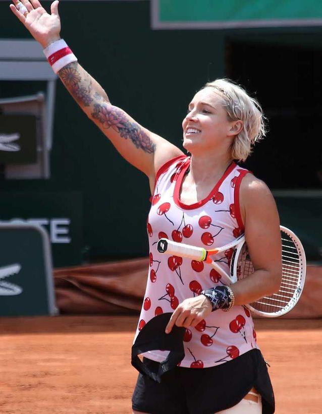 Bethanie Mattek Sands Roland-Garros