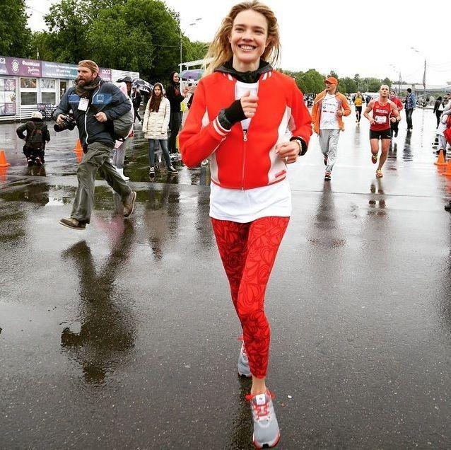 La sportive et mannequin Natalia Vodianova