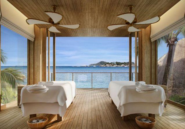 Le Spa du Six Senses Zil Pasyon (Félicité, Seychelles)