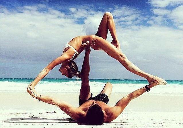 Yoga en couple : les plus jolies photos repérées sur Instagram
