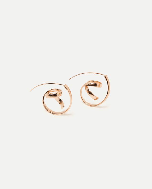 Boucles d'oreilles dorées Zara