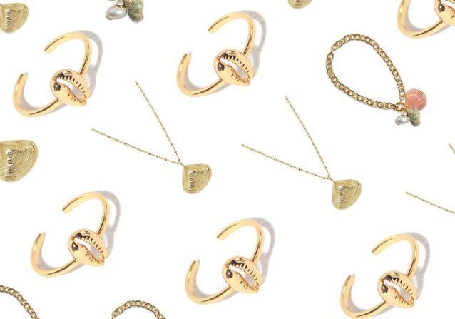 20 bijoux coquillages pour succomber à la tendance de l'été