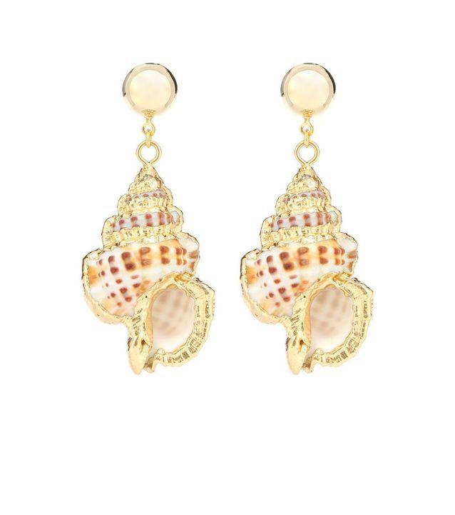 Boucles d'oreilles coquillages Jennifer Behr