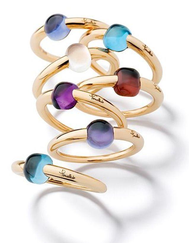 Mode guide shopping bijoux joaillerie luxe bague pomellato