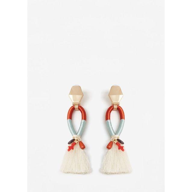 Style magnifique large choix de couleurs découvrir les dernières tendances Boucles d'oreilles pompon La Redoute - On veut des boucles d ...
