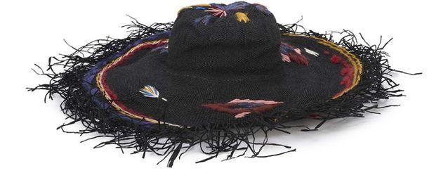 Tendance chapeaux de l'hiver : la broderie