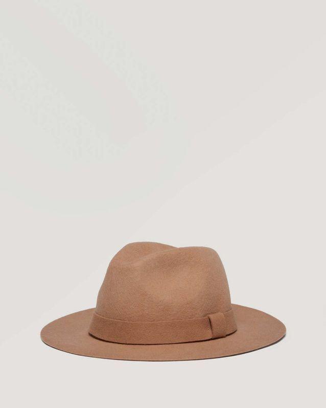 Tendance chapeaux de l'hiver : le camel