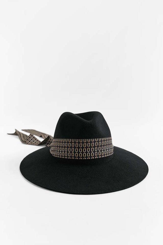 Tendance chapeaux de l'hiver : le ruban