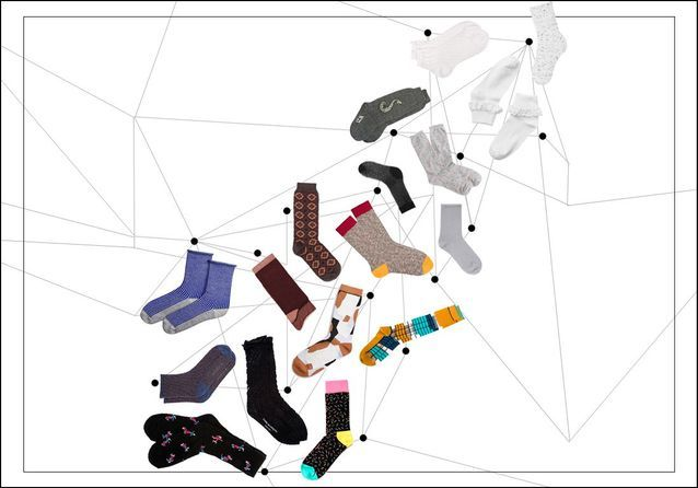 b02f2924515 Chaussette femme   20 jolies paires de chaussettes pour femme - Elle