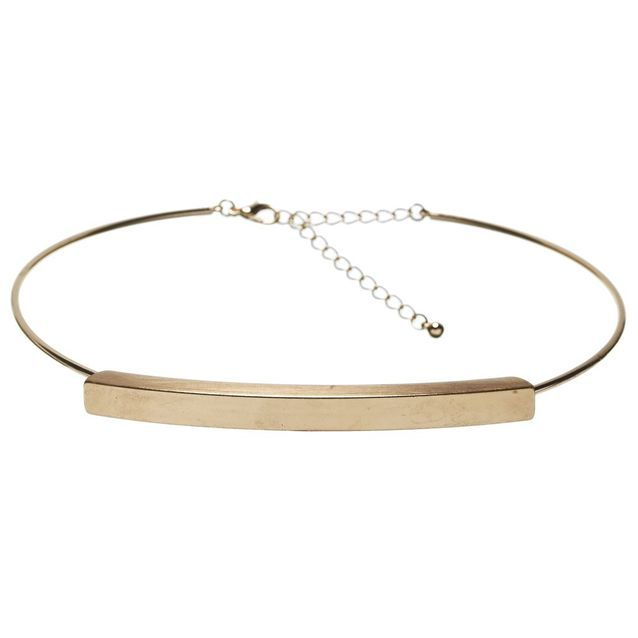 Collier choker à plaque Moa