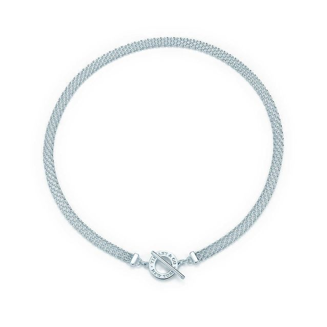 Collier choker argent Tiffany And Co.