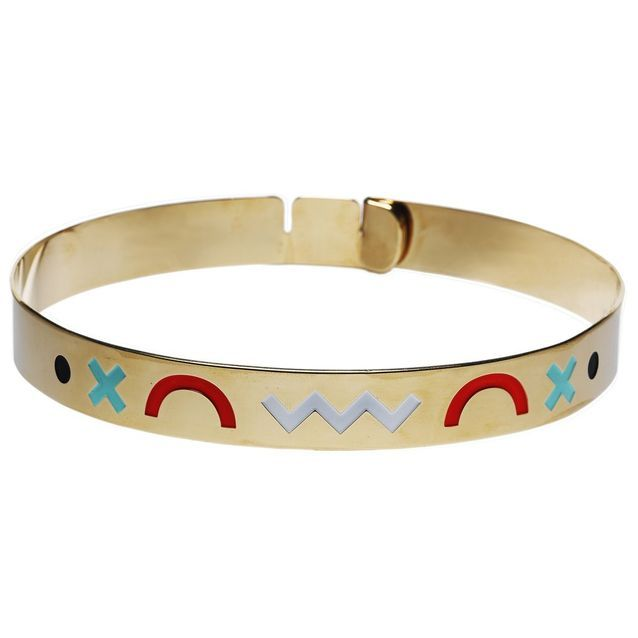 Collier choker tribal Anne Thomas