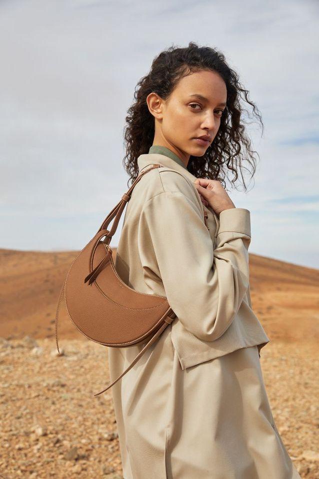 Sac Polène, modèle Numéro Dix couleur camel