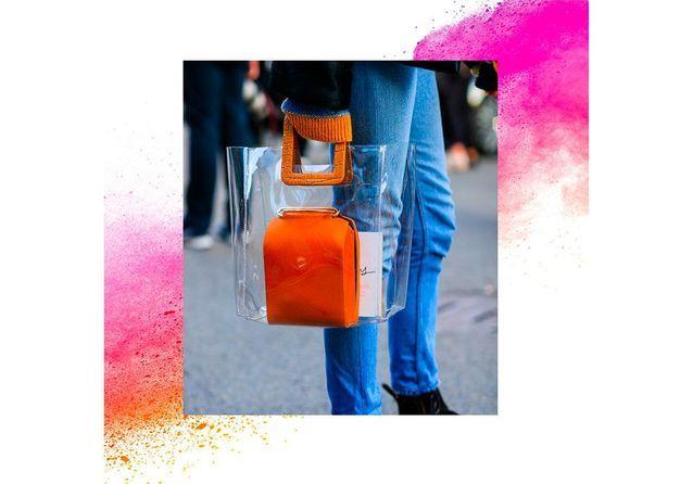 Tendance : cet été, on adopte le sac transparent