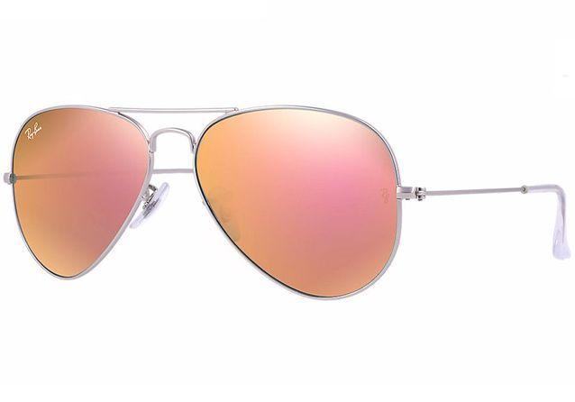 Lunettes de soleil miroir aviateur Ray Ban