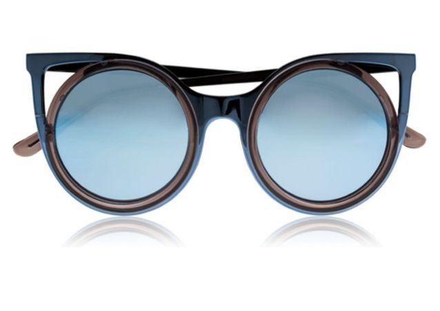 Lunettes de soleil miroir bleu clair Seafolly