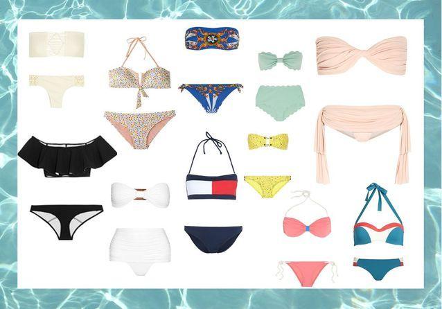 00aa5c35ec Maillot de bain bandeau : 25 maillots de bain bandeau pour chiller à ...