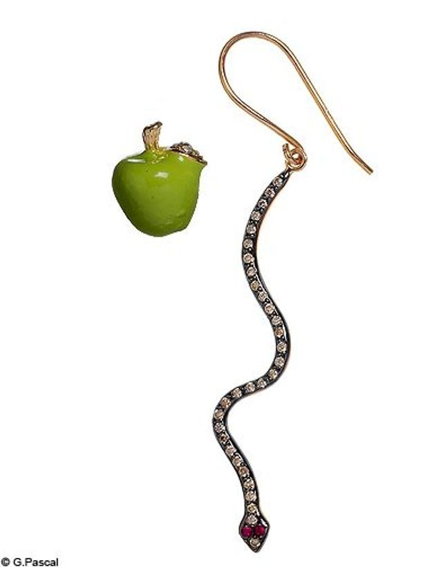 Mode tendance guide shopping accessoires bijoux boucles oreilles deparailees accessorize white bird
