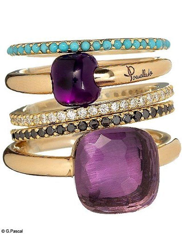 Mode guide shopping accesoires bijoux bagues pomellato