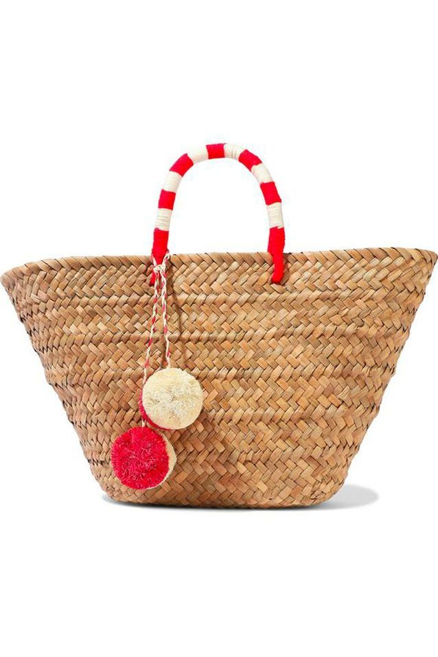 Sac en paille Kayu sur The Outnet