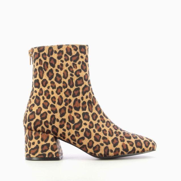 Bottines léopard Vanessa Wu