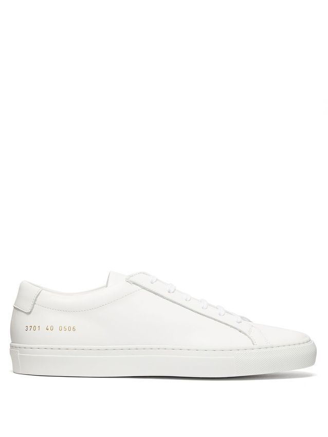 Baskets blanches Common Projects sur MATCHESFASHION