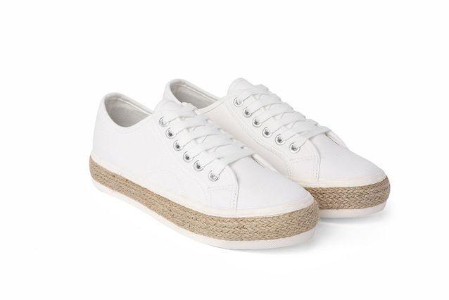 Baskets blanches Etam